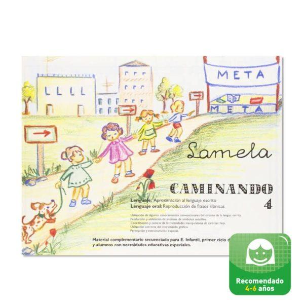 Cuadernillos didácticos Lamela Caminando nº 4