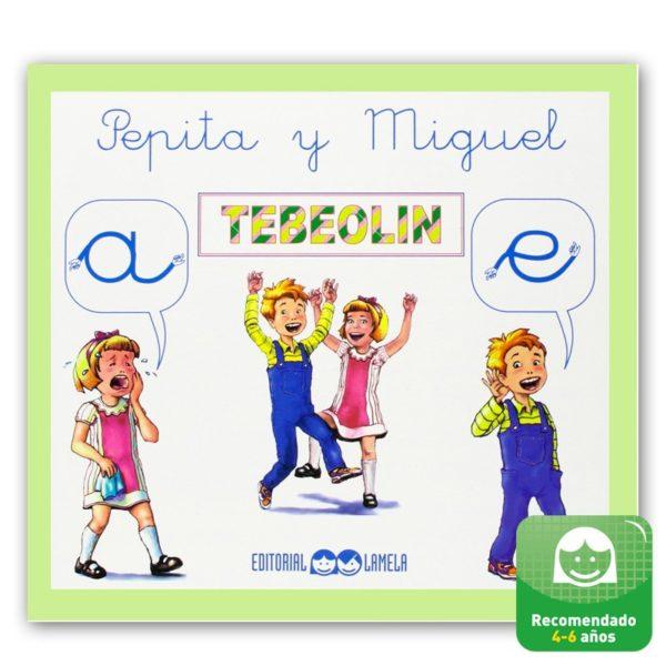 """Libro de Cuento """"Pepita y Miguel"""" Lamela"""