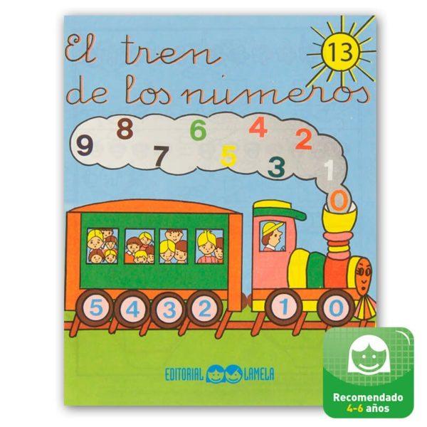 Cuadernillos didácticos Lamela El tren de los números nº 13