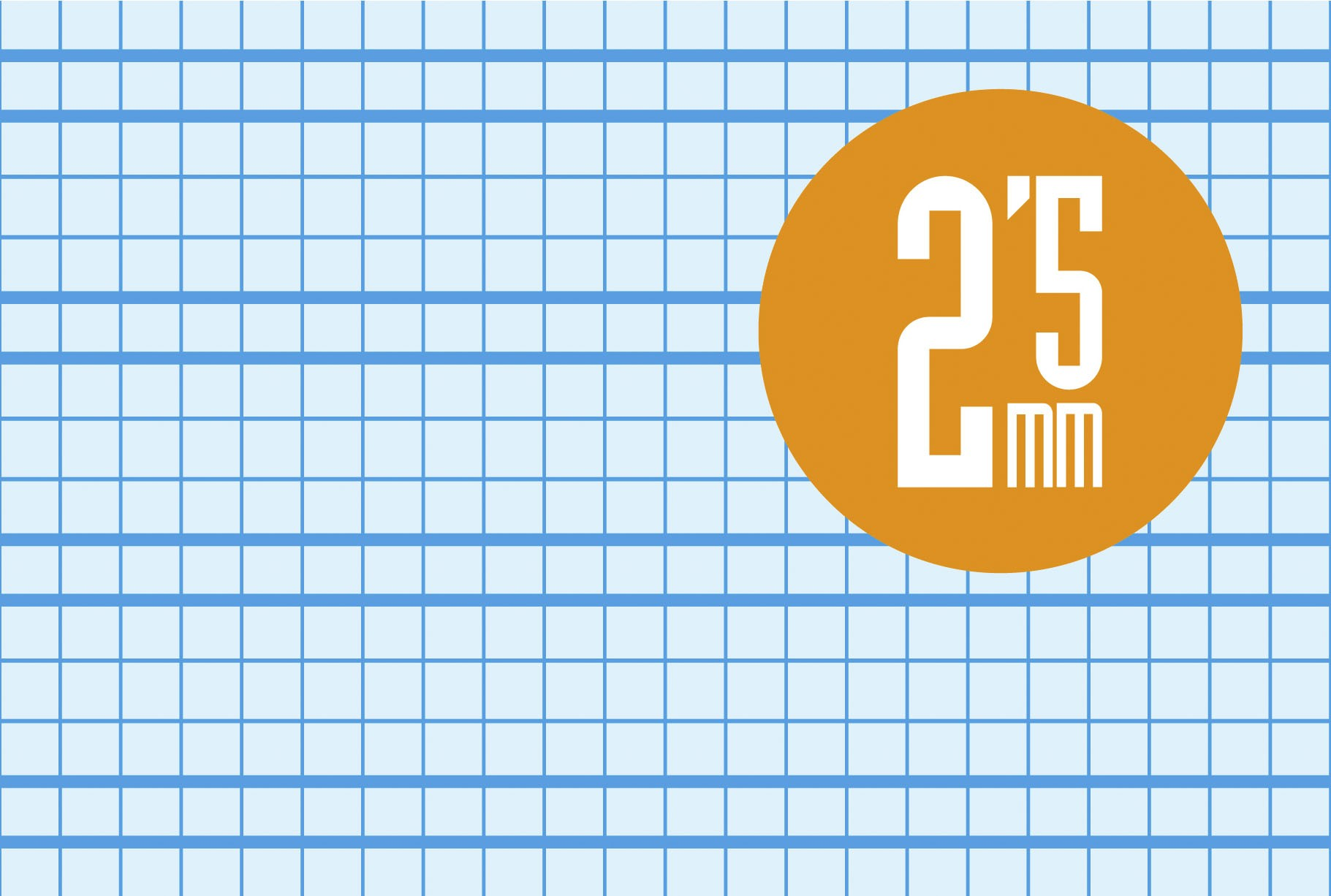 Libreta Grapa Cuarto 30 Hojas. Cubierta Cartoncillo Plastificado. Cuadrovía 2,5mm.